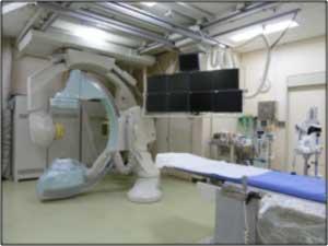 頭部心臓血管撮影